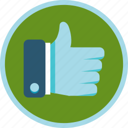 achievement, appreciate, approve, badge, gamification, hand, like, silver, social, thumb, up icon