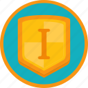 achievement, award, badge, best, first, gamification, gold, protection, shield, trophy, win, winner icon