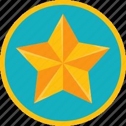 achievement, award, badge, best, gamification, gold, prize, reward, star, trophy, win, winner icon