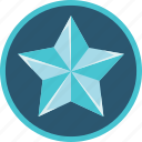 achievement, badge, silver, star icon