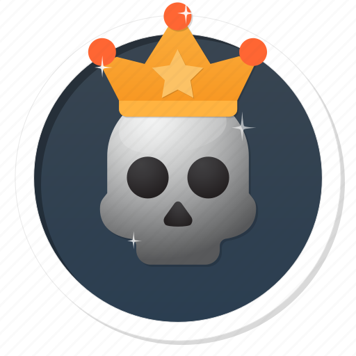 achievement, award, badge, best, boss, champion, crown, dead, deadly, death, fun, game, gamification, gang, god, good, governor, halloween, head, heavy metal, horror, kill, king, lord, main, metal, money, monster, pirate, poison, power, premium, prince, princess, punk, queen, rich, royal, ruler, skeleton, skull, superior, trophy, warning, wealth, win, winner icon