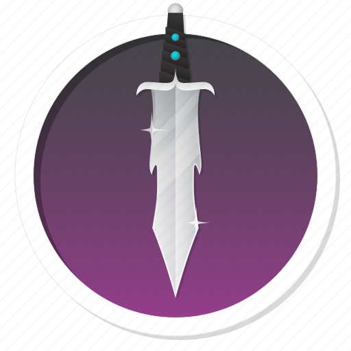 battle, dagger, defence, fight, game, gamification, guard, hero, knight, knighthood, legend, level, level up, magic, magic sword, magical, master, power, proof, protection, rank, ranking, safe, security, sword, trophy, war, win, winner icon