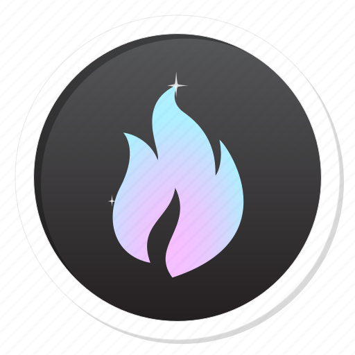 alarm, attack, bonfire, burn, campfire, camping, cold, destroy, fire, flame, grill, hot, idea, light, news, smart, vanquish, warm, warmth, write icon