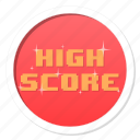 achievement, award, challenge, complete, conquest, cool, fun, game, gamification, good, great, high score, level, level up, praise, rank, ranking, reward, score, skill, victory, well done, win, winner icon