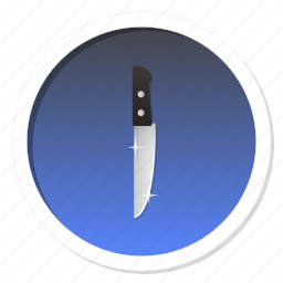 blade, cook, cooking, dagger, danger, defence, fight, food, game, gamification, guard, harm, kitchen, knife, level, level up, marshal, master, proof, protection, rank, ranking, safe, security, sword, trophy, violence, win, winner icon