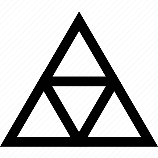 gaming, link, triangle, zelda icon