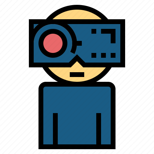 augmented, digital, electronic, gaming, reality, technology icon