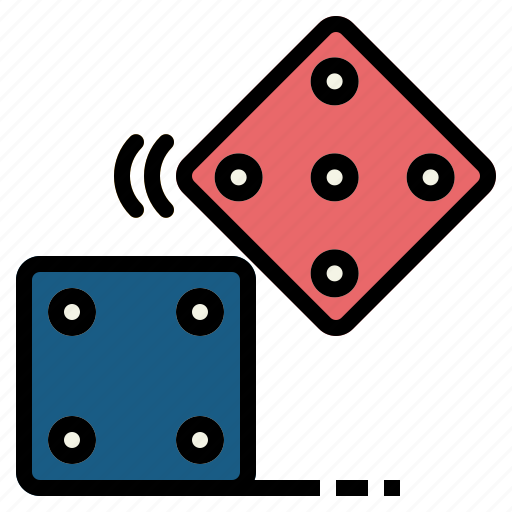 casino, dice, dices, game, gaming, luck icon
