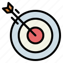 aim, shooting, sniper, target, ui, weapons icon