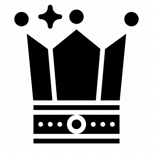 crown, games, shape icon