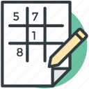 entertainment, label game, noughts and crosses, paper pencil game, xs and os icon