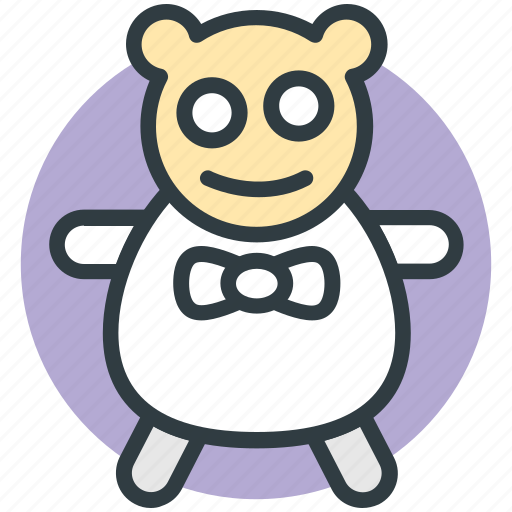 baby, bear, bear toy, child, toy icon