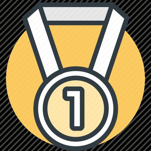 Award medal, medal, prize, reward ribbon, ribbon badge ...