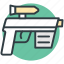 gun, handgun, pistol, revolver, weapon icon