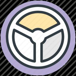 car drive, car steering, driving, steering, wheel steering icon