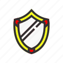 defend, esport, game, gaming, playing, shield icon
