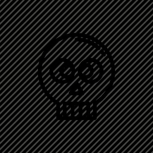 danger, game, gaming, skull, war icon