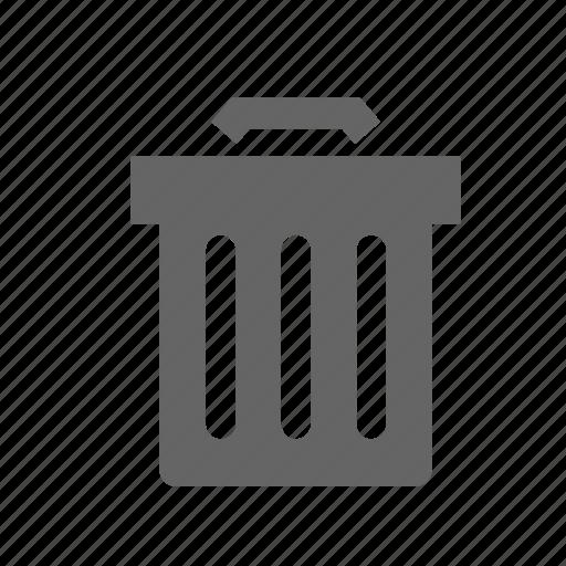 bin, can, container, garbage, rubbish, trash, waste icon