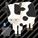 cattle, cow, farm, husbandry, livestock, milk icon