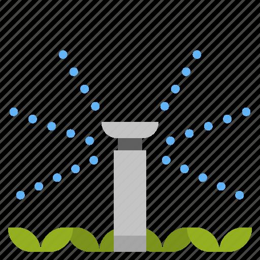 Automatics, gardening, lawn, sprinkler, water, watering icon - Download on Iconfinder