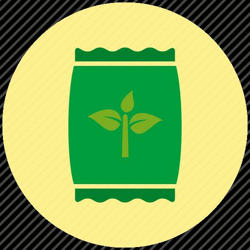 bag, fertilizer, garden, gardening, plant, sack icon