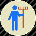 farmer, garden, gardening, tool, tools icon
