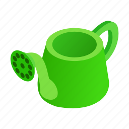 agriculture, equipment, gardening, grow, isometric, tool, watering icon