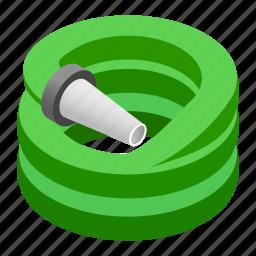 alarm, danger, drawing, drawn, fire, isometric, sprinkler icon