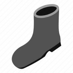 boot, gumboots, plastic, protection, protective, rubber, weather icon