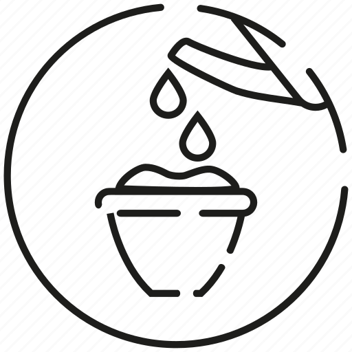 art, bailer, can, garden, irrigation, line, watering icon