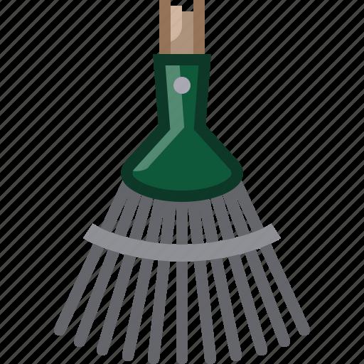farm, garden, gardening, rake, tillage, tool, yumminky icon