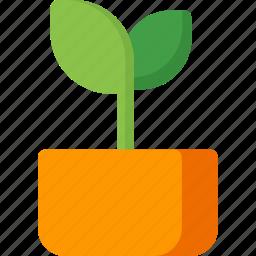 ecology, energy, flower, garden, green, leaf, plant icon