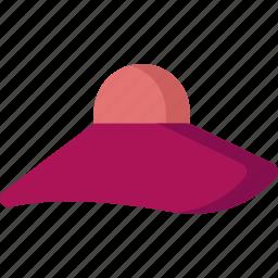 avatar, clothes, fashion, female, girl, hat, woman icon