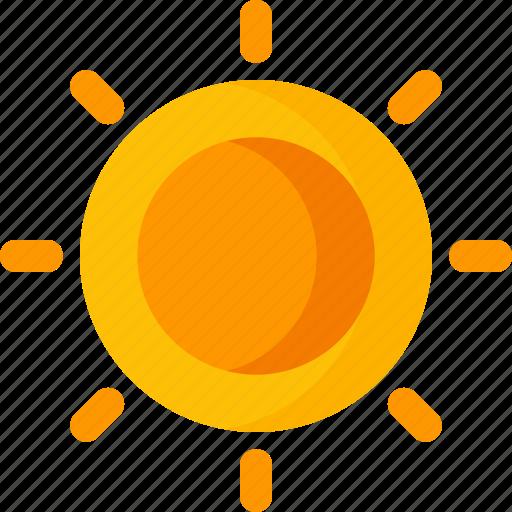 beach, climate, forecast, rain, summer, sun, weather icon