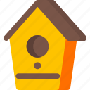animal, bird, garden, gardenig, house, nature, nest icon