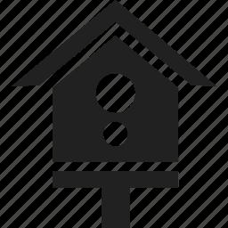 bird, bird house, house, pet icon