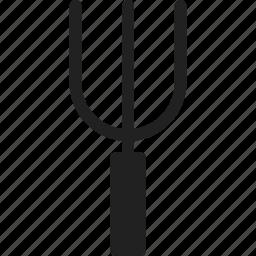 garden, gardening, pitchfork, tool icon