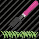 digging fork, farming equipment, gardening fork, gardening tool, spading fork icon