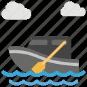 boat, boating, rafting, ship, watercraft icon