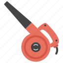 blower, blower tool, construction blower, party blower, whistle icon