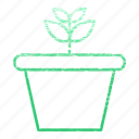 equipment, flower, gardening, nature, plant, pot icon