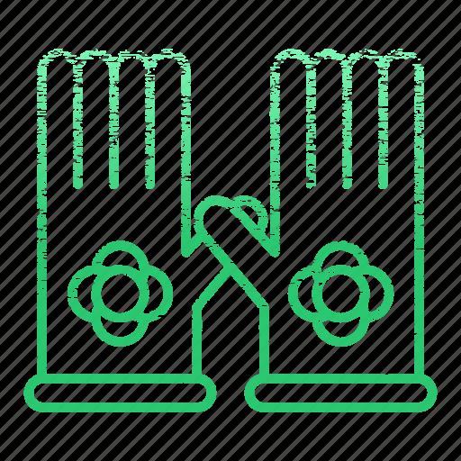 equipment, garden, gardening, gloves, tool icon