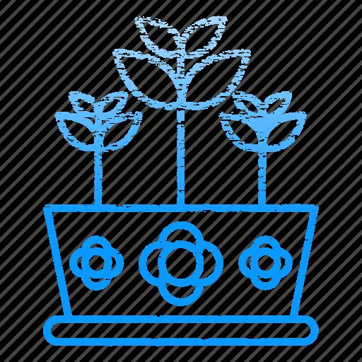 equipment, flower, gardening, nature, plant, pot icon