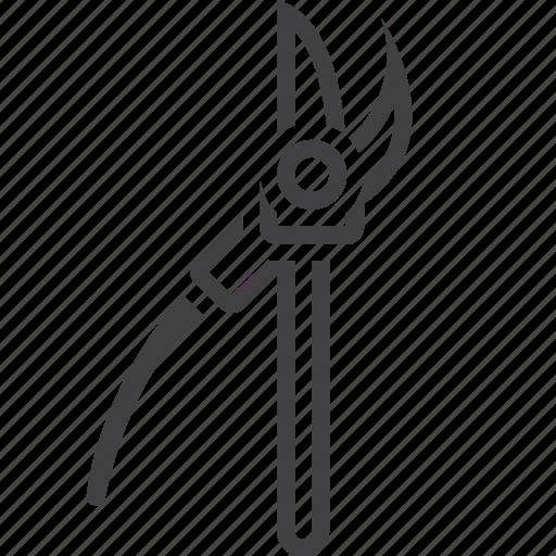 cutter, garden, pruner, scissors icon