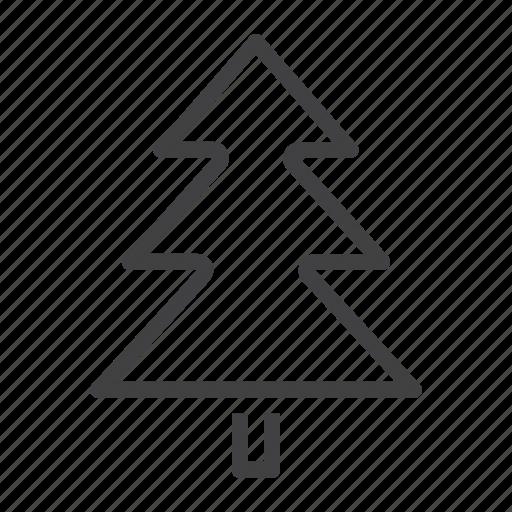 christmas, fir, spruce, tree icon