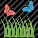 fields, garden, grass, greenery, nature, park icon