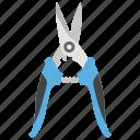 blade, grass cutter, scissors, secateurs, tool, trimmer