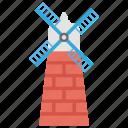 mill, power generation, wind energy, wind turbine, windmill icon