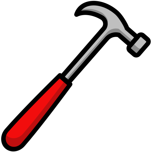Construction, diy, hammer, tool icon - Free download