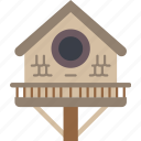 bird, garden, gardening, grow, house, plant icon